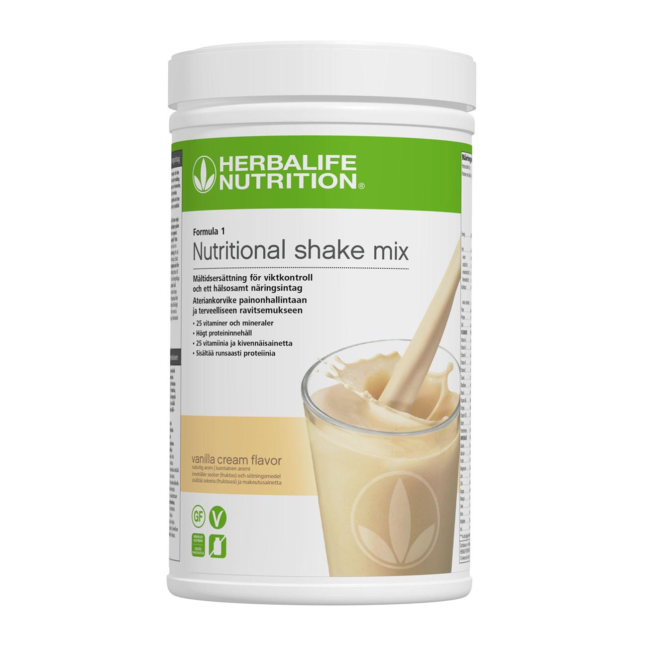 Formula 1 Vanilla Cream 780 g | Herbalife Nutrition SE