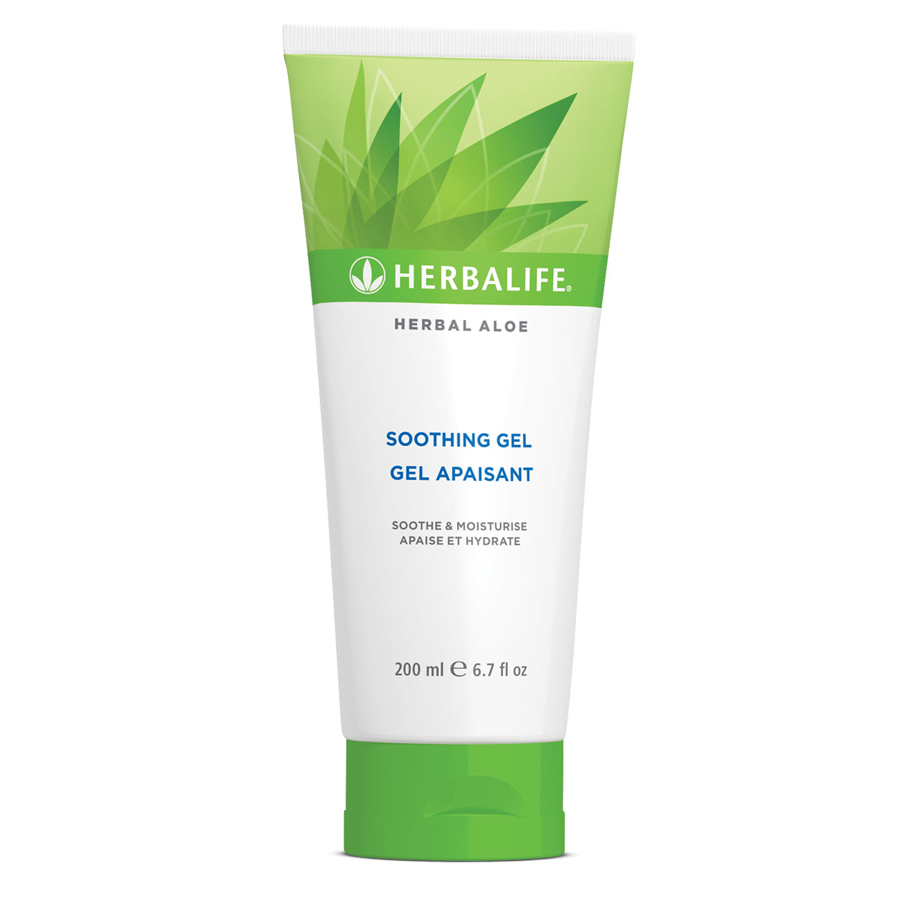 Herbal Aloe lindrande gel  produktbild