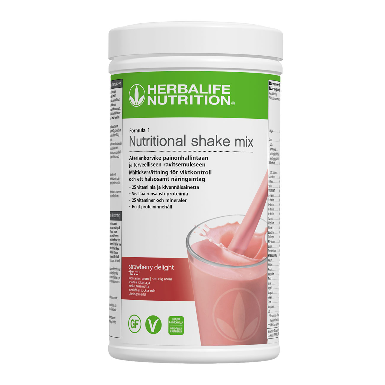 Formula 1 Protein Shake Strawberry Delight produktbild
