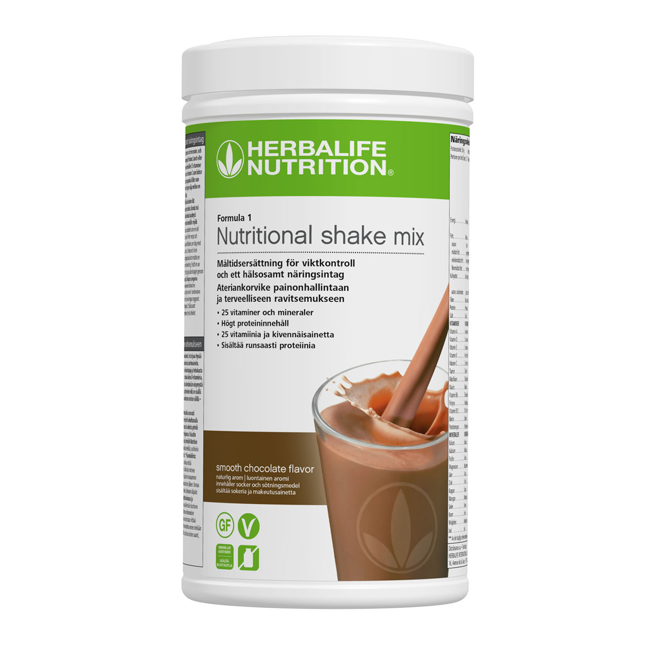 Formula 1 Protein Shake Smooth Chocolate produktbild